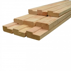 "tira marco de puerta pino oregón 1 1/2""x6""x2,5 mts"